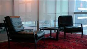 """לשכת המנכ""""ל במשרדי קבוצת מילצ'ן, תכנון אנדרמן אדריכלים"""