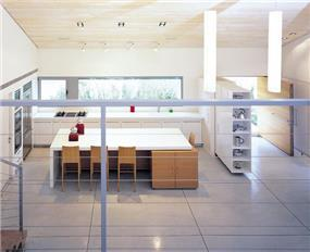 מטבח מעוצב,מרווח,  בתכנון אדריכל יואב אנדרמן