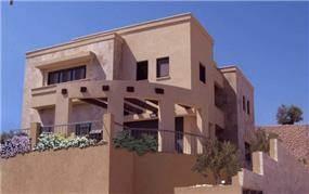 בית מגורים -חזית בקווים עגולים-אדר' שגית גולדשמידט