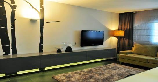 סלון בדירת מגורים