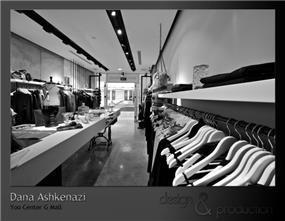 החנות של דנה אשכנזי בקניון YOO, עיצוב סטודיו ארטישוק