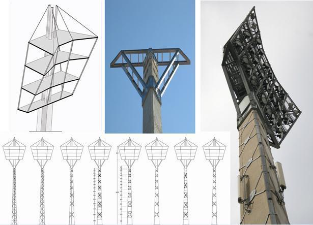 """מגדלי תאורה אצטדיון בלומפילד ת""""א"""