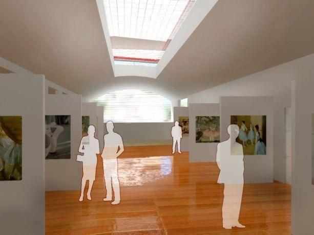 תכנון גלריית אומנות וחלל מוזיאוני - מרכז תל אביב