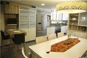 בית פרטי, רעננה - מטבח ופינת אוכל - Dreams&Magic