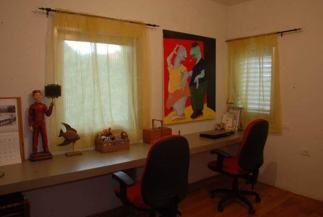 חדר עבודה - קרן גנס - עיצוב ואדריכלות פנים