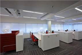 עמדות עבודה, פרוייקט UBS - סתר אדריכלים