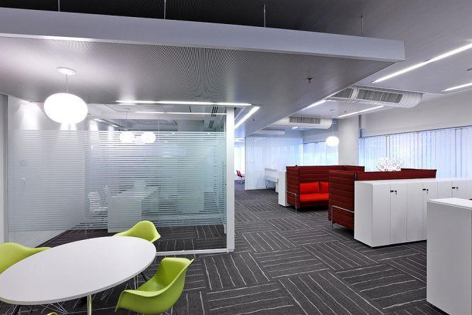 אזור עבודה, פרוייקט UBS - סתר אדריכלים