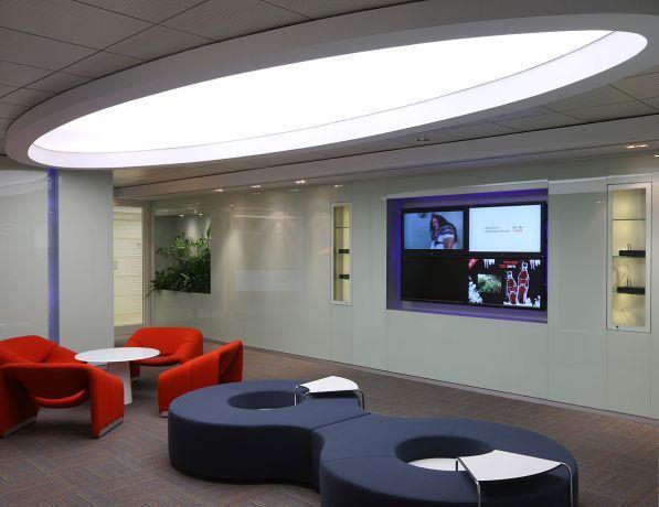 אזור לקוחות, פרוייקט cisco - סתר אדריכלים