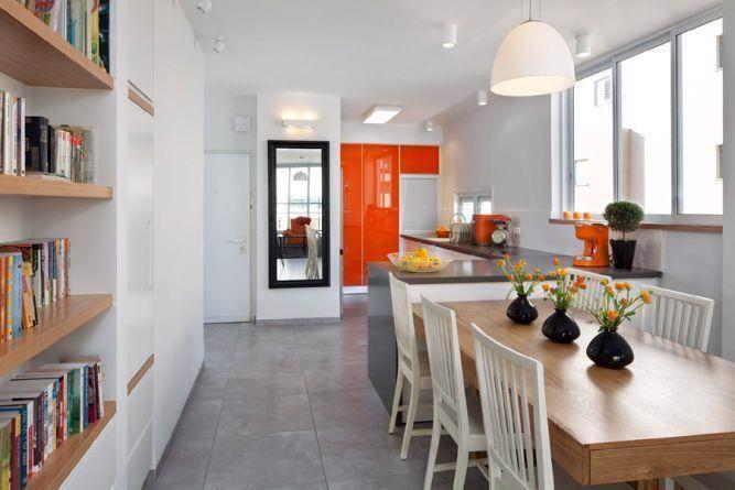 מטבח בסגנון מודרני בעיצוב אסנת ברש