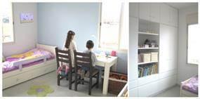 חדר ילדים בבית ברגבה