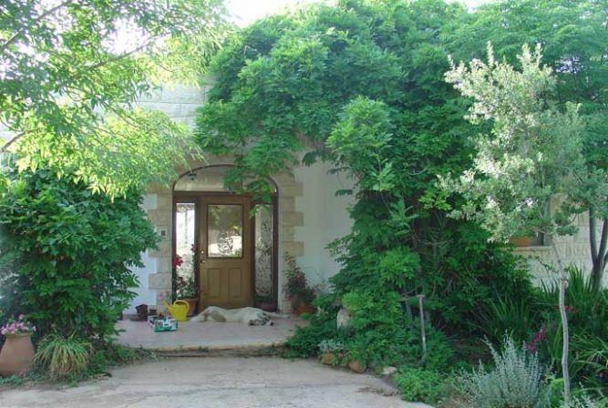 כניסה ירוקה לבית אבן - רוזנצויג-גופר אדריכלות וסביבה