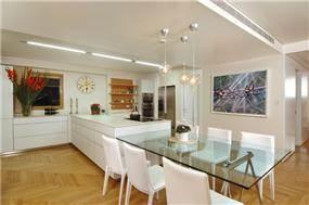 מטבח ופינת אוכל - גל אדריכלים