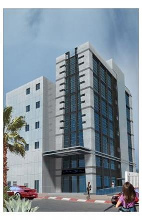 בניין(הדמייה) - גל אדריכלים