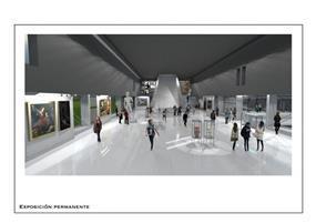 הצעה לחלל תצוגה בתכנון מוזיאון בבואנוס איירס ארגנטינה