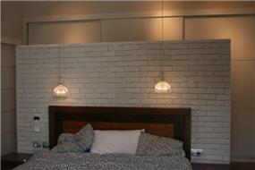 חדר שינה הורים- וילה בדרום