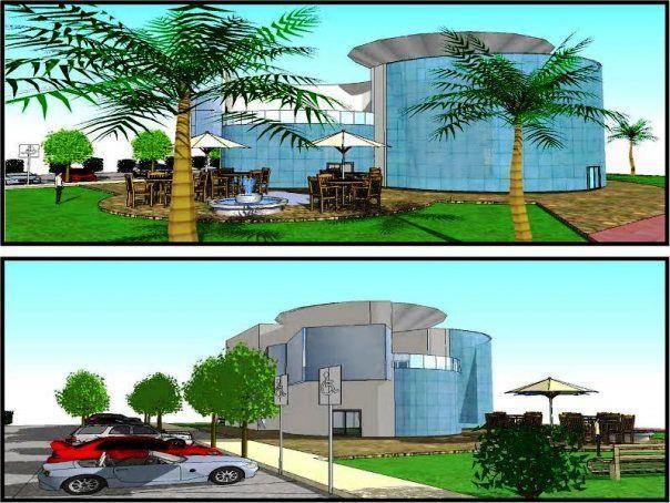 תכנון מבנה ציבורי המשמש למרכז תיירות ומודיעין