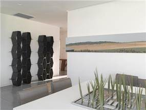 וילה במושב תל שחר בעיצובו של אלדד מיטלמן (צילום: רמי סולומן, כנרת לוי)