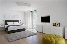 חדר שינה מעוצב, שחר רוזנפלד אדריכלים