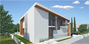 חזית בית פרטי בראשון לציון, שחר רוזנפלד אדריכלים