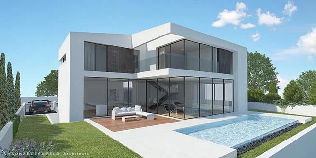 בית פרטי בראשון לציון, שחר רוזנפלד אדריכלים