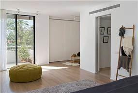 חדר שינה לאחר שיפוץ, שחר רוזנפלד אדריכלים