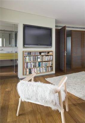 חדר שינה בתכנון האדריכלית ורד בלטמן כהן