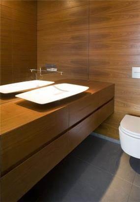 חדר אמבטיה בתכנונה של אדריכלית ורד בלטמן כהן