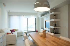 דירת נופש סי&סאן   עיצוב: שמרית קאופמן - סטודיו פרטים