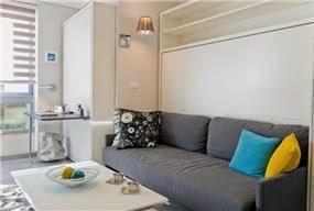 דירת נופש  בעיצוב מודרני וצעיר של שמרית קאופמן ויונית סבטאלו
