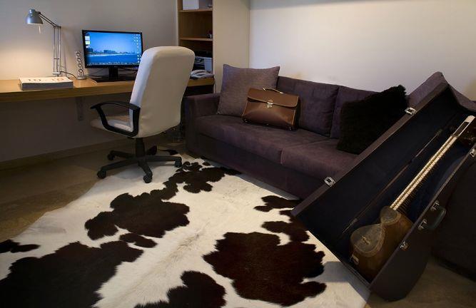 חדר עבודה - דירה באזורי חן | עיצוב: שמרית קאופמן - סטודיו פרטים