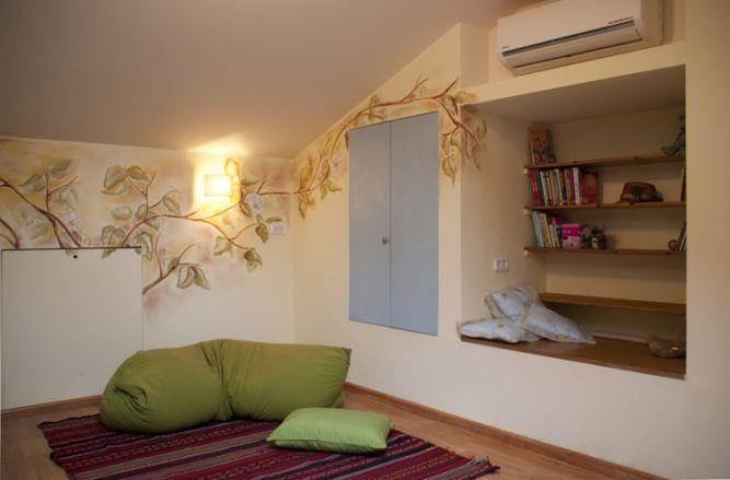 חדר בעלית הגג-בית פרטי בהוד השרון