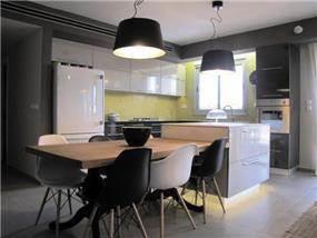שדרוג מטבח בסטנדרט קבלני - עיצוב: טוביה פנפיל