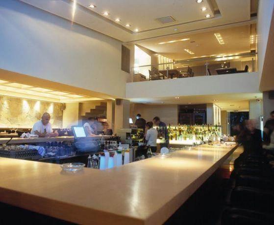 מסעדת ''רוקה'' הרצליה בתכנון סטודיו גד