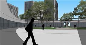 מתחם קניות ומשרדים- בראון-חלפין, אדריכלים  בשיתוף עם רדמארק