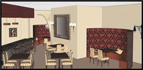 מסעדה, הדמייה ממוחשבת - ML Designs