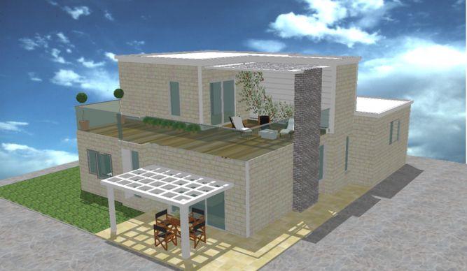 בית פרטי, הדמייה - ML Designs