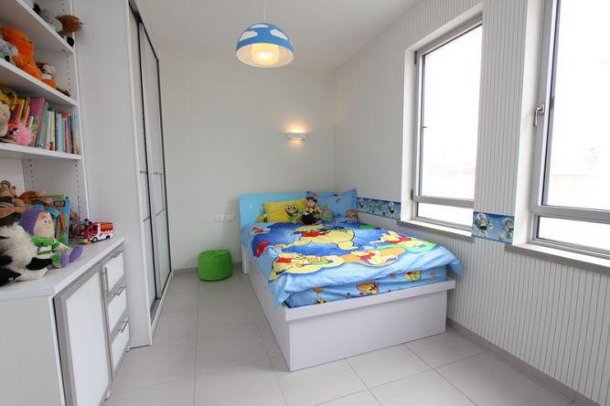 חדר ילדים בעיצוב חגית רוזנברג
