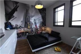 חדר לנער המתבגר בעיצוב מודרני, חגית רוזנברג, תכנון ועיצוב פנים