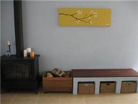 עיצוב וסטיילינג - חדר מגורים