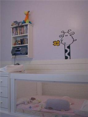 """דירה ת""""א - פרט בחדר ילדים"""