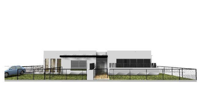 הדמייה ממוחשבת של בית פרטי במבוא ביתר, חזית  - בתכנון