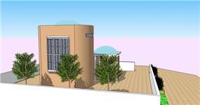 """תכנון בית כנסת- :""""שערי שמים"""""""