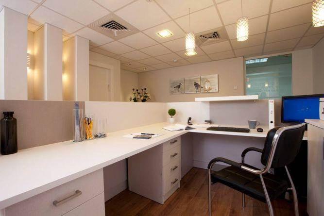 חלל קבלה במשרד עו''ד, ענת רגב - אדריכלות אחרת