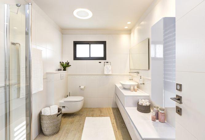 חדר רחצה מעוצב בסגנון מודרני, ענת רגב - אדריכלות אחרת