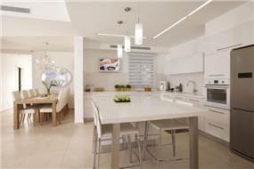 מטבח בעיצובה של ענת רגב - אדריכלות אחרת