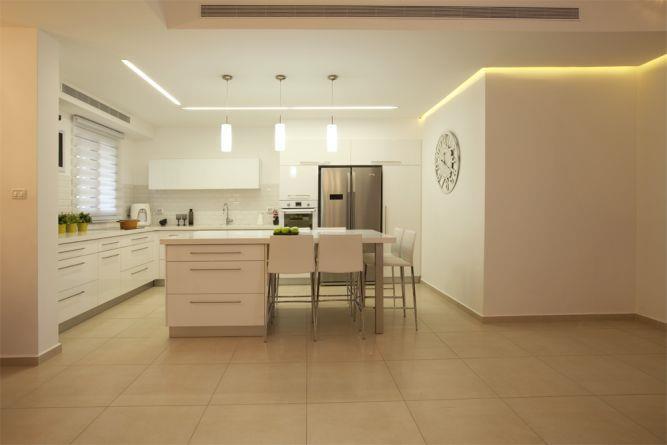 מטבח מודרני בעיצוב ענת רגב - אדריכלות אחרת