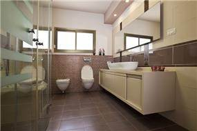 חדר אמבטיה מעוצב, ענת רגב - אדריכלות אחרת