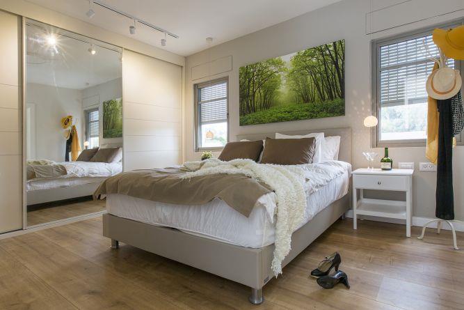 חדר שינה בדירת בוטיק, ענת רגב - אדריכלות אחרת