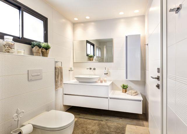 חדר רחצה מודרני, ענת רגב - אדריכלות אחרת