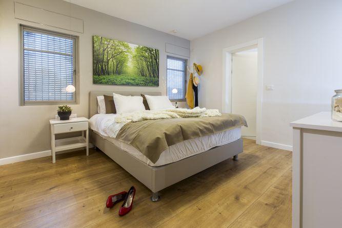 עיצוב חדר שינה,  ענת רגב - אדריכלות אחרת